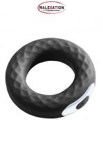 Anneau vibrant Spanning Ring - Malesation : Puissant anneau de pénis vibrant, 10 vitesses, à positionner sur la verge ou les testicules.