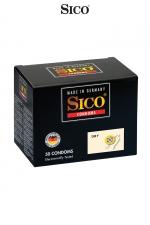 50 préservatifs Sico DRY : Boite de 50 préservatifs haute qualité non lubrifiés pour la pratique du sexe au naturel et sans risque.